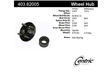 centric-CE 40361005 Fro