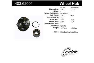 centric-CE 40362001E Fro