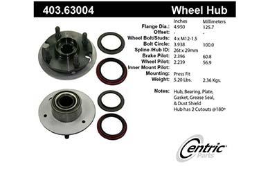 centric-CE 40363004E Fro