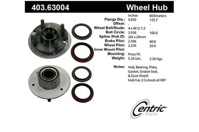 centric-CE 40363004 Fro