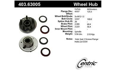 centric-CE 40363005E Fro