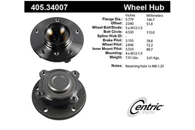 centric-CE 40534007 Fro