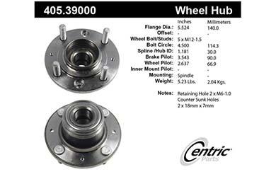 centric-CE 40539000E Fro