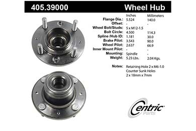 centric-CE 40539000 Fro