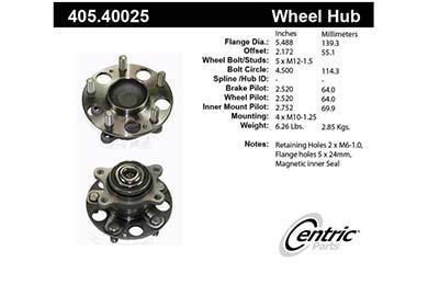centric-CE 40540025E Fro
