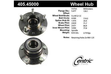 centric-CE 40545000E Fro