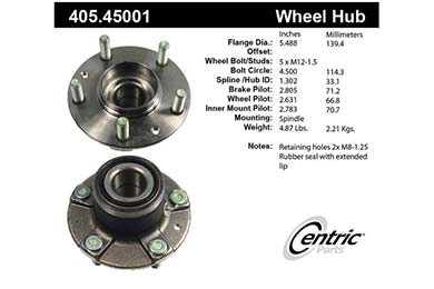 centric-CE 40545001 Fro