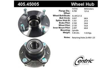 centric-CE 40545005E Fro