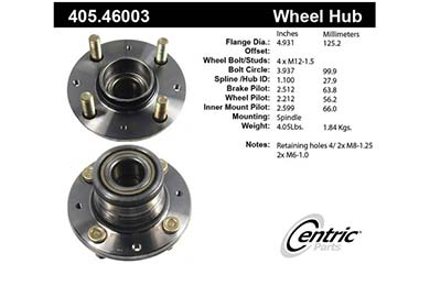 centric-CE 40546003 Fro