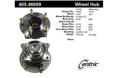 centric-CE 40546009 Fro