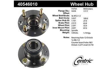 centric-CE 40546010E Fro