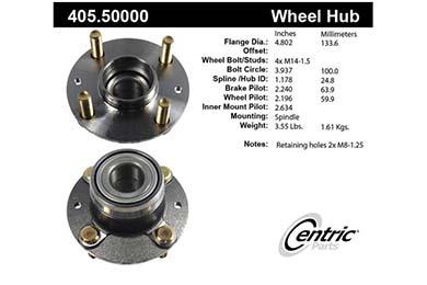 centric-CE 40550000E Fro