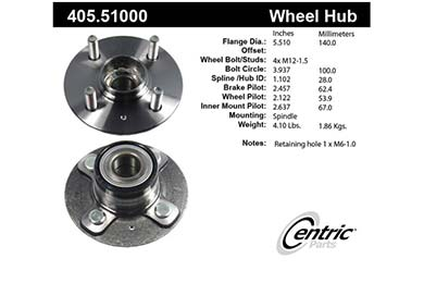 centric-CE 40551000 Fro