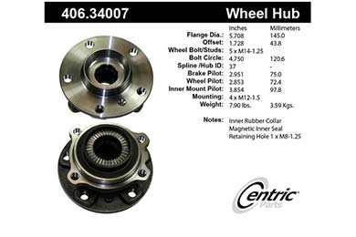 centric-CE 40634007 Fro