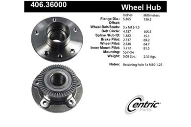 centric-CE 40636000 Fro