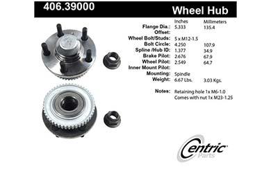 centric-CE 40639000E Fro