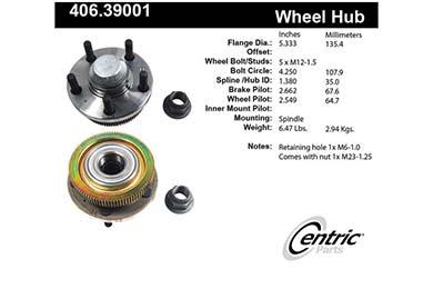centric-CE 40639001E Fro