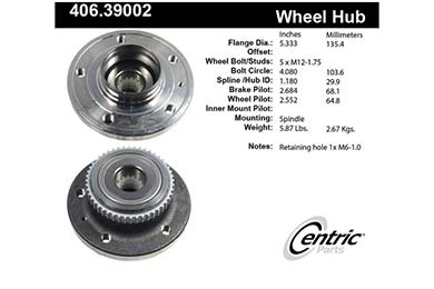 centric-CE 40639002 Fro