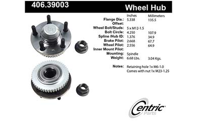 centric-CE 40639003 Fro