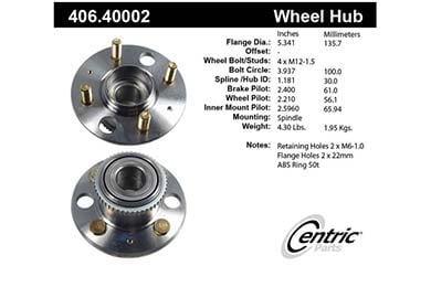 centric-CE 40640002 Fro