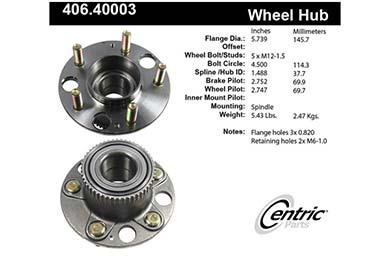 centric-CE 40640003E Fro