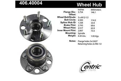 centric-CE 40640004E Fro