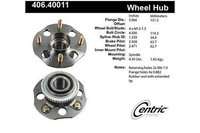 centric-CE 40640011E Fro