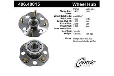 centric-CE 40640015E Fro