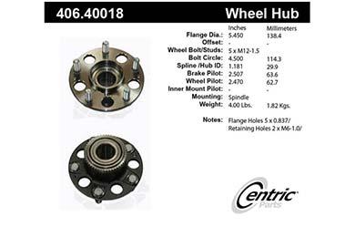 centric-CE 40640018E Fro