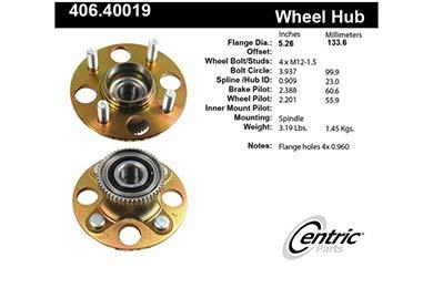 centric-CE 40640019E Fro