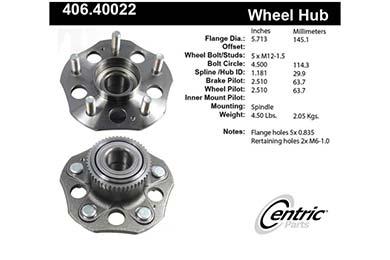 centric-CE 40640022E Fro