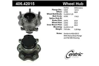 centric-CE 40642015 Cal