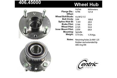 centric-CE 40645000 Fro