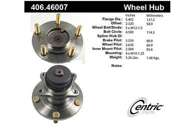 centric-CE 40646007E Fro