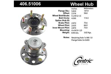 centric-CE 40651006 Fro