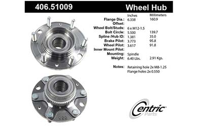 centric-CE 40651009 Fro