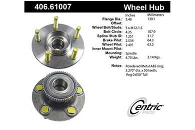 centric-CE 40661007E Fro