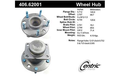 centric-CE 40662001 Fro