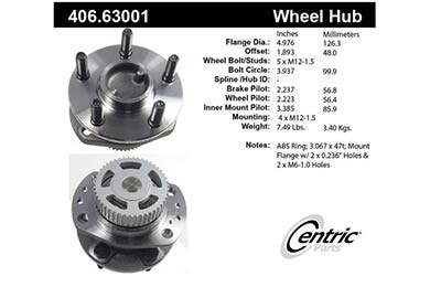 centric-CE 40663001 Fro