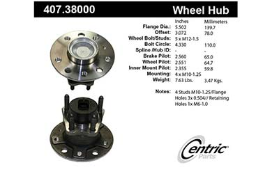 centric-CE 40738000 Fro