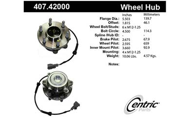 centric-CE 40742000 Fro