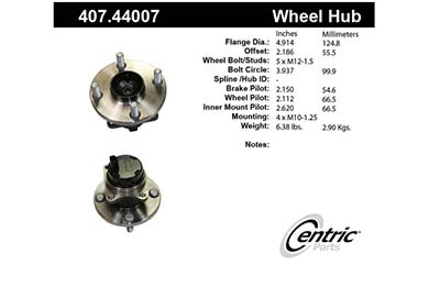 centric-CE 40744007 Fro