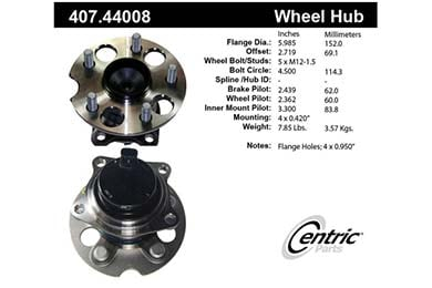 centric-CE 40744008 Fro