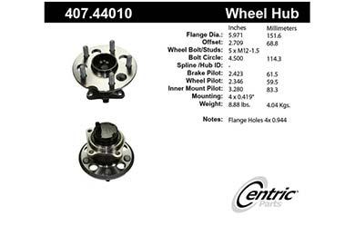 centric-CE 40744010E Fro