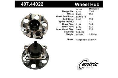 centric-CE 40744022 Fro