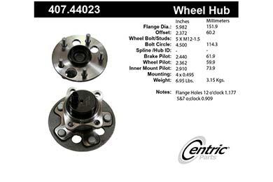 centric-CE 40744023E Fro