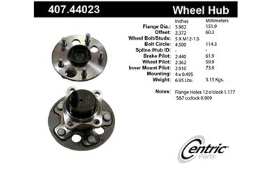 centric-CE 40744023 Fro