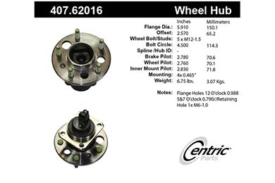 centric-CE 40762016 Fro