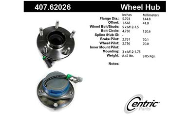 centric-CE 40762026 Fro