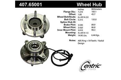 centric-CE 40765001E Fro